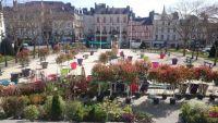 Toute la gamme de végétaux pour réaliser 'Le jardin des potssibles' pour Des jardins dans la ville à Vannes.
