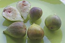 Figuier Osborn Prolific, arbre fruitier caduc à feuille verte et aux fruits en juillet et septembre octobre à peau violette bronze et à chair rose parfumée.