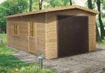 Garage en bois finitions haut de gamme murava porte - Porte de garage haut de gamme ...