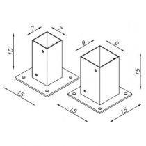 Support métallique pour béton