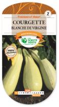Courgette blanche de Virginie