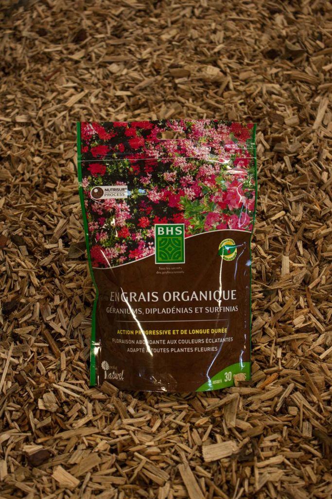 Engrais organique Géraniums 500g