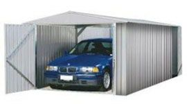 Garage moyennes et grandes voitures en métal zincalume MACKAY